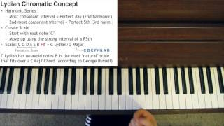 Modern Jazz - Lydian Chromatic Concept