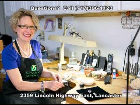 Custom Design Bridal & Wedding Jewelry (Lancaster PA) Veleska Jewelry