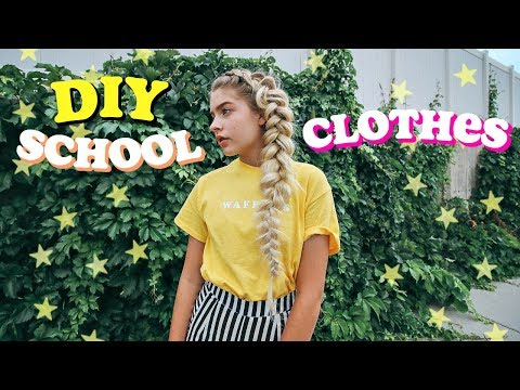 DIY Tumblr Inspired Clothes for School 2017-2018