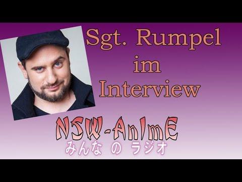 Sgt. Rumpel im Interview bei NSW-AnImE!