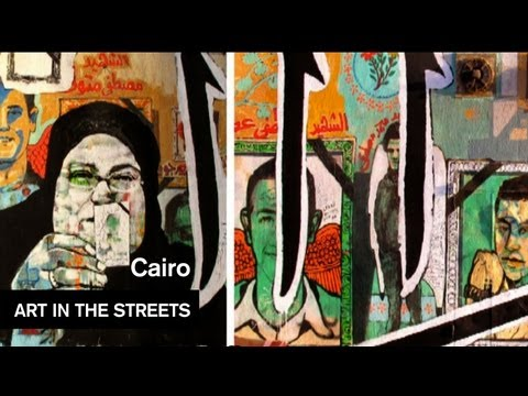 Global Street Art Episode 1 - Egypt - Cairo SprayCan Rebels - Art in the Streets - MOCAtv