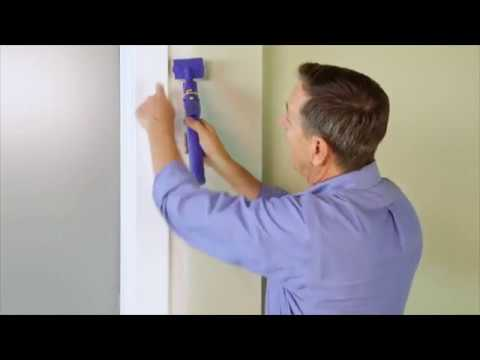 Painting Wall Edges for Home Interior - Quick Painter Paint Edger C800849