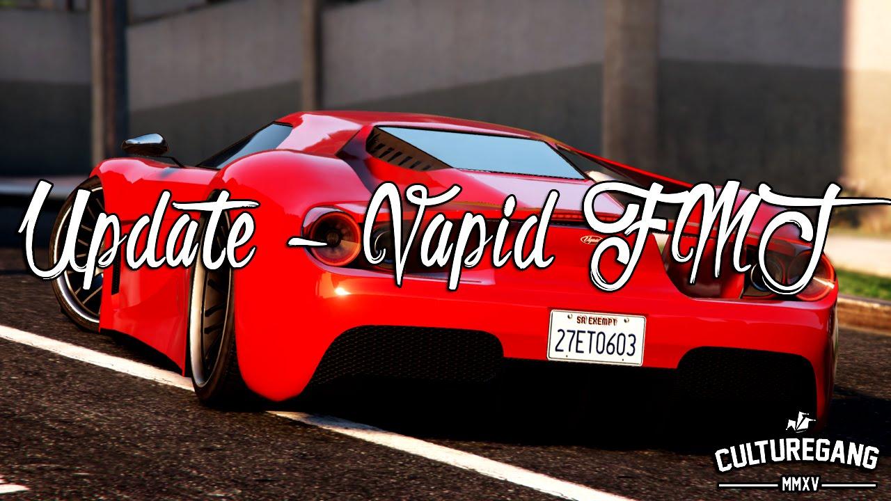 Gta  Dlc Finance And Felony Update Vapid Fmj Ford Gt Ferrari  Youtube