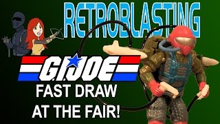 G.I. Joe - Fast Draw at the Fair! Vintage Toy Review Real American Hero