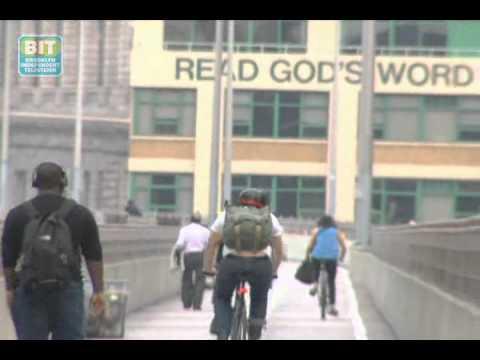 Brooklyn Bridge Bicyclists vs. Pedestrians: Brooklyn Review