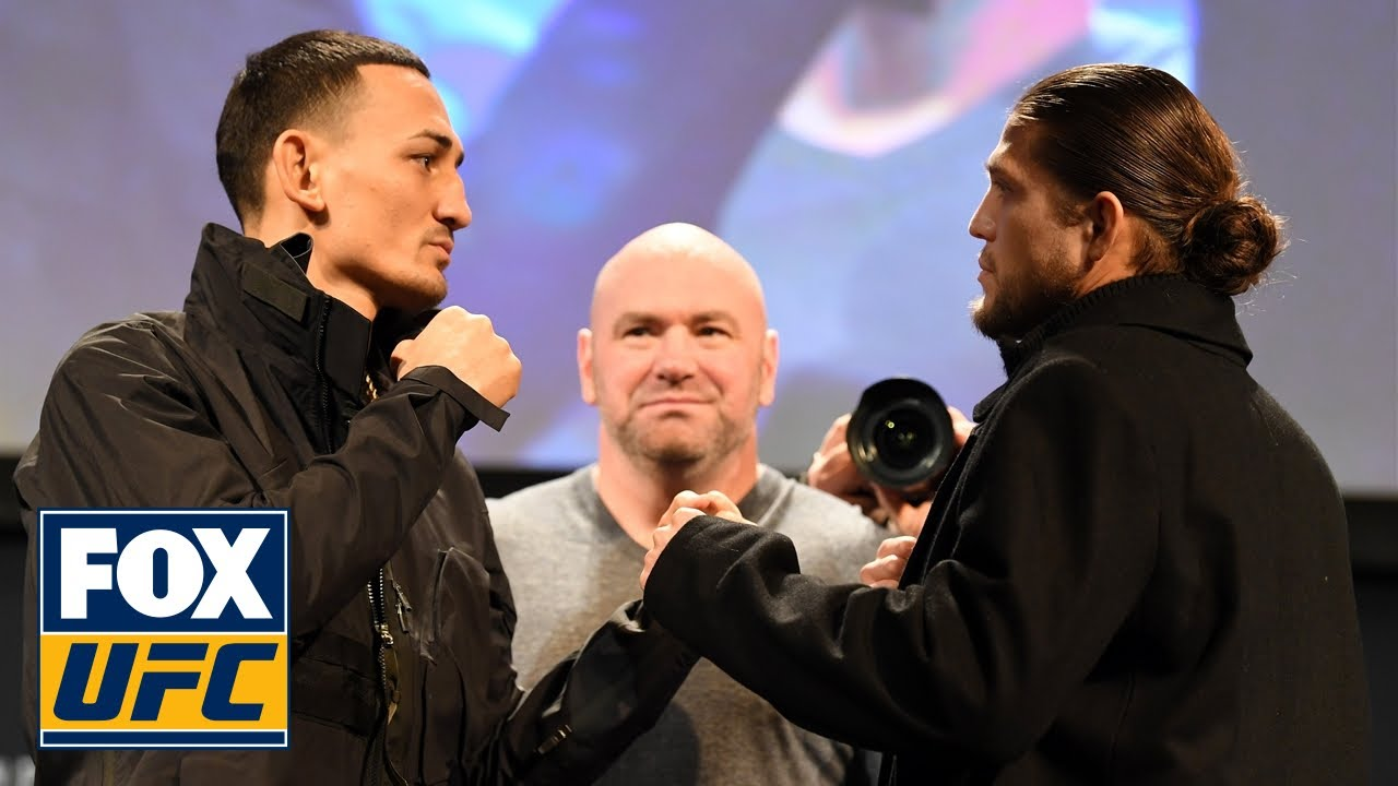 Max Holloway, Brian Ortega exchange words before UFC 231