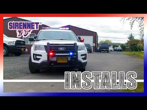 2018 Ford Interceptor Utility for Campus Security Patrol
