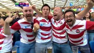 ラグビー第8回(W杯)イングランド大会 日本vs南アフリカ 後半digest