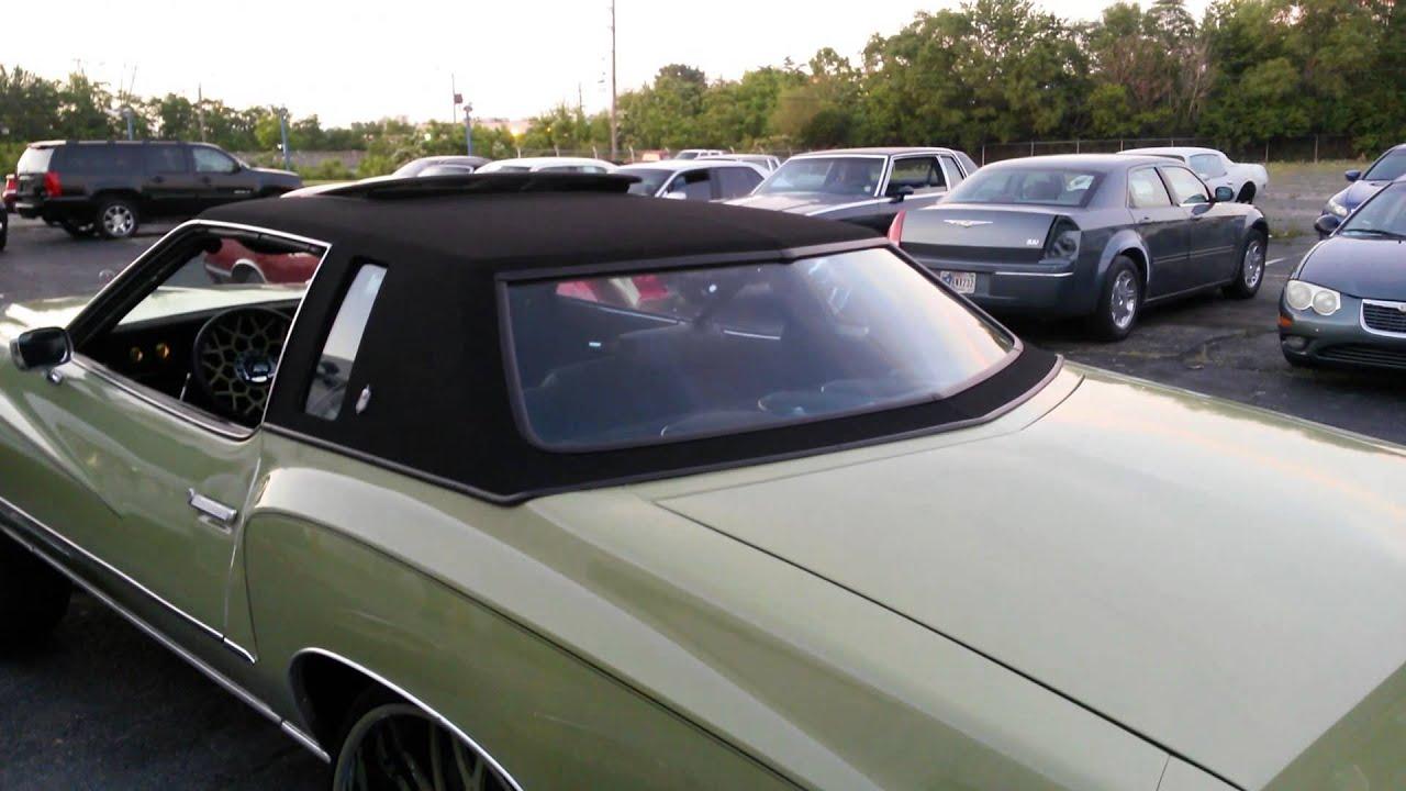 75 Chevrolet Monte Carlo On 28 Quot Forgiato Nido S Youtube