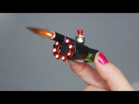 видео: Как сделать мини стреляющий пистолет / how to make a mini firing gun