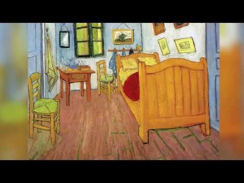 REART: Van Gogh. Bedroom in Arles