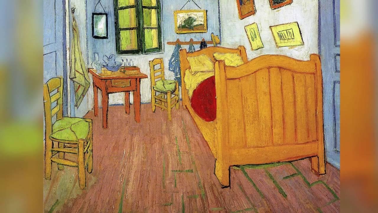 Reart van gogh bedroom in arles youtube - Chambre a arles van gogh ...