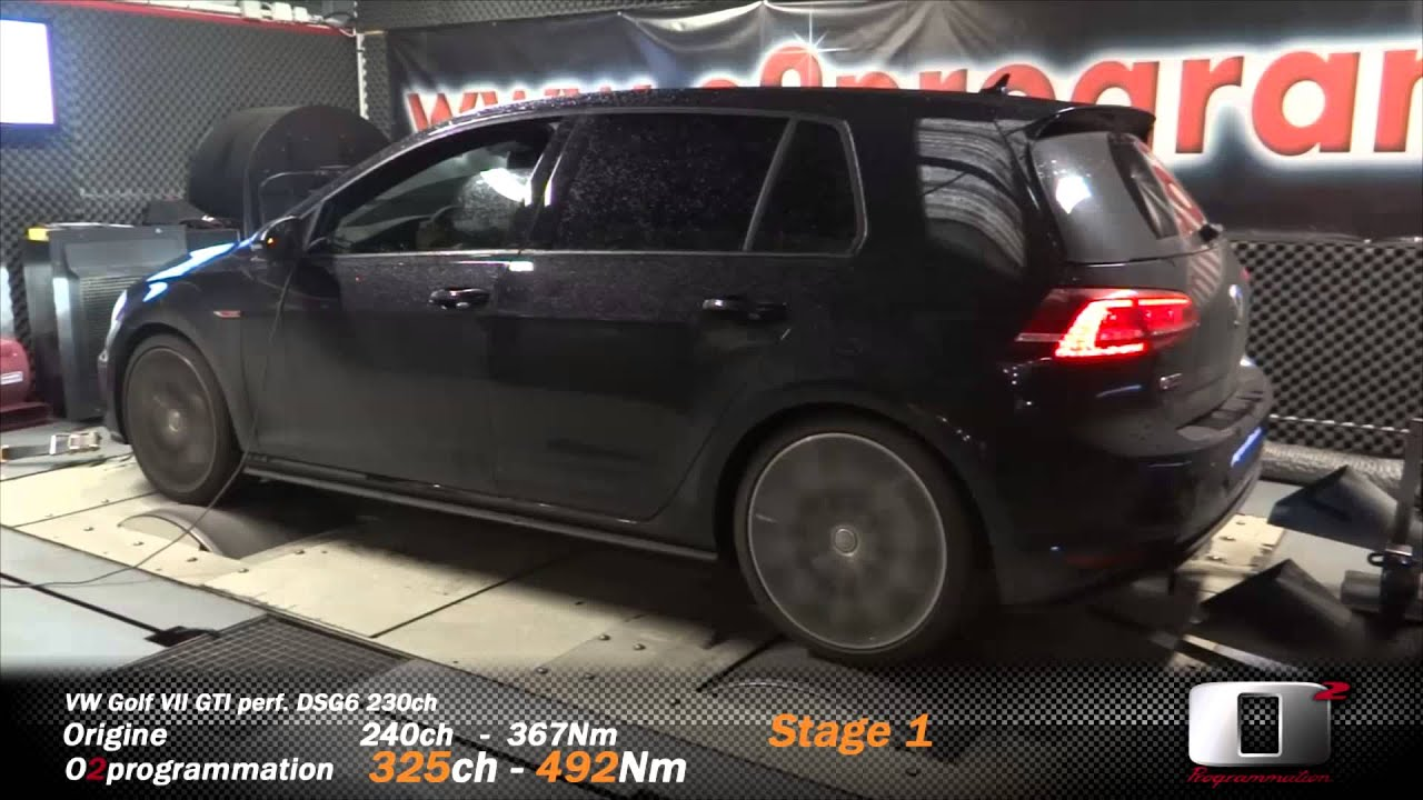 vw golf 7 gti perf stage1 325ch o2 programmation performance youtube. Black Bedroom Furniture Sets. Home Design Ideas