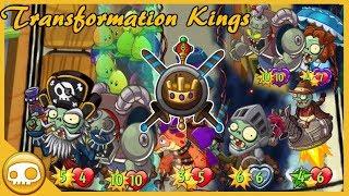 The Transformation Kings! - Pvz Heroes
