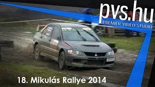 Sipos István - Szabó Tamás - Mitsubishi Lancer Evo VIII - 18. Mikulás Rallye