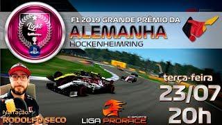 F1 2019 ESPORTS | GRANDE PRÊMIO DA ALEMANHA 2019 | F1 2019 PS4 LIGHT | LIGA PRO RACE ESPORTS