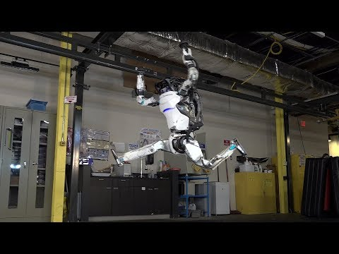 Amazing Robot Can Do Parkour