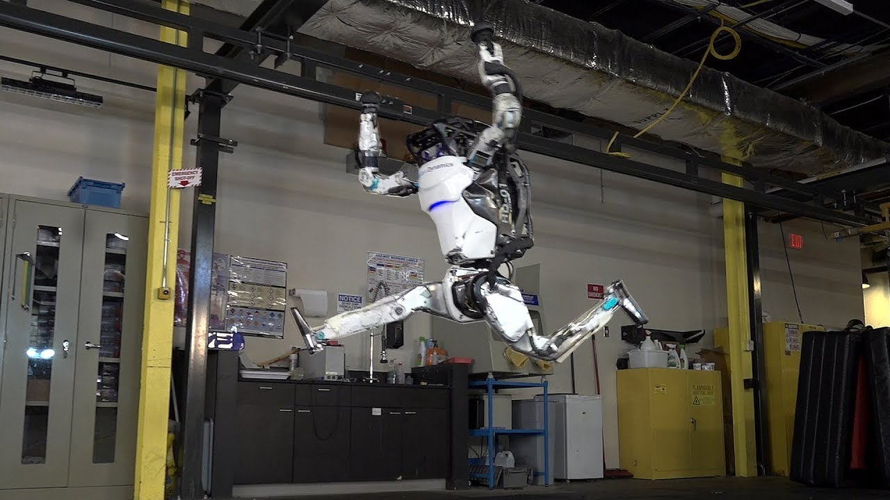 The New Atlas Robot Makes It's Debut 09/25/2019 Scary Stuff My People.. Yep...