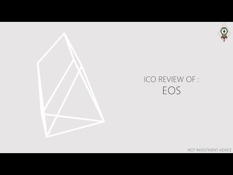 ICO Review Of EOS (EOS Tokens On Ethereum Blockchain)