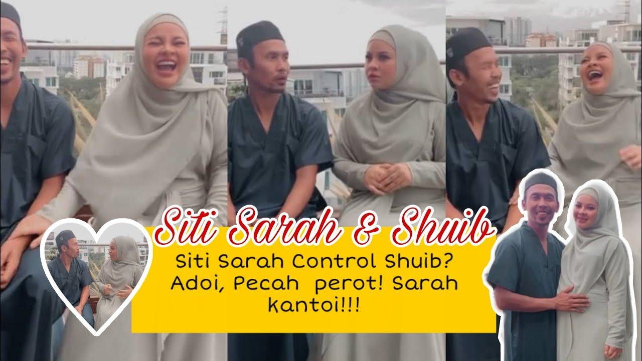 Kelakar! Siti Sarah kantoi? Tips rumahtangga bahagia dari Sarah & Suib