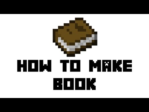 minecraft-survival:-how-to-make-book