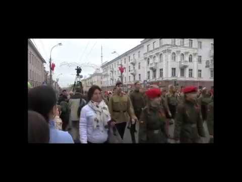 Шествие на День Победы в Гомеле