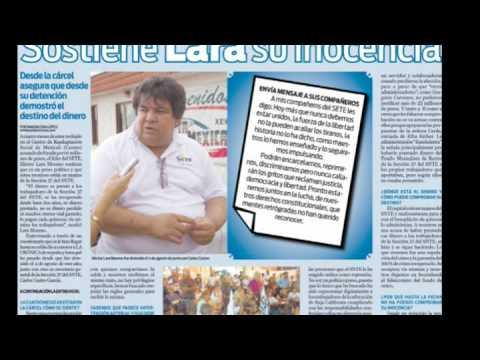 Profr Lara Moreno mensaje en voz del Líder del Setebc37