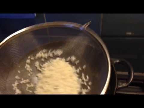 rijst poffen
