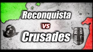 What if the Crusades were a Success and the Reconquista was a Failure? Alternate History