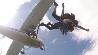 Katie's Skydive! - Summer, 2014 - Madison, WI
