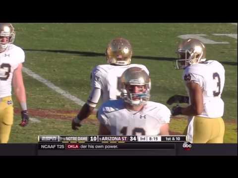 NCAAF 2014 Week 11 Notre Dame at Arizona State