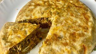 ചട്ടിപത്തിരി ഇത് പോലെ ഒന്ന് ഉണ്ടാക്കി നോക്കൂ-Chatti Pathiri-Chicken Stuffed Pathiri- Ramadan Recipe