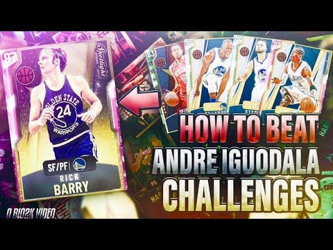 HOW TO BEAT ALL ANDRE IGUODALA SPOTLIGHT CHALLENGES! POINTS, STEALS, & EASY TRIPLE DOUBLES! NBA 2K20