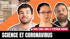 Que dit la science sur le coronavirus ? Entretien avec Tania Louis et Stéphane Debove