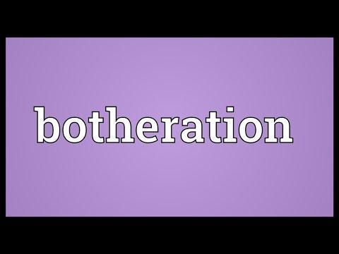 Header of botheration