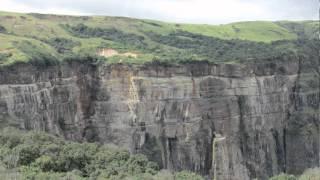 Seven Sisters' falls in Cherrapunjee Shillong Mawlynnong Meghalaya Halfway Heaven Incredible India