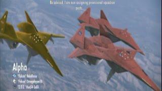Ace Combat Infinity - ADF 01 Falken formation B7R (Hard)