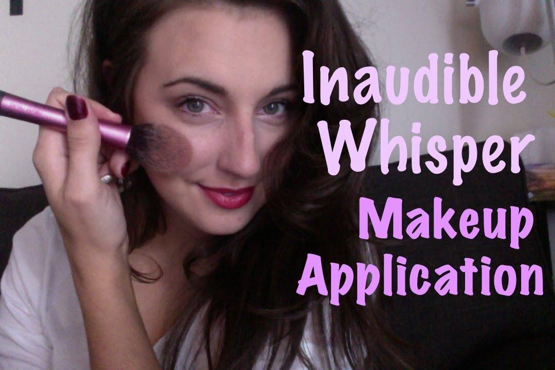 ASMR Makeup Inaudible Whisper - YouTube