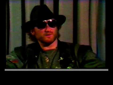 Roger Glover interview on USA TV 1985