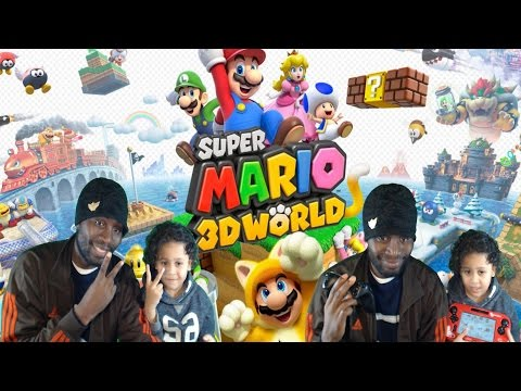 FAMILY LIVESTREAM: SUPER MARIO 3D WORLD #4 (1440P) (((((( WITH MY FIVE YEAR SON))))))