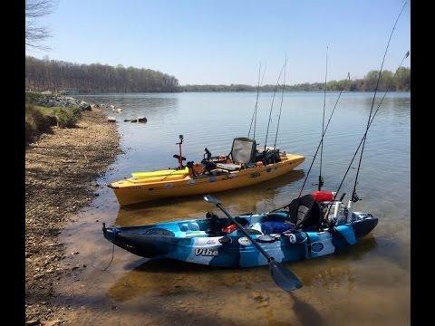 Multi species kayak fishing little seneca lake boyds md for Seneca lake fishing report