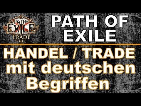 PATH OF EXILE 3.0 - Handel / Trade jetzt auch mit deutschen Begriffen möglich [ poe / trading ]