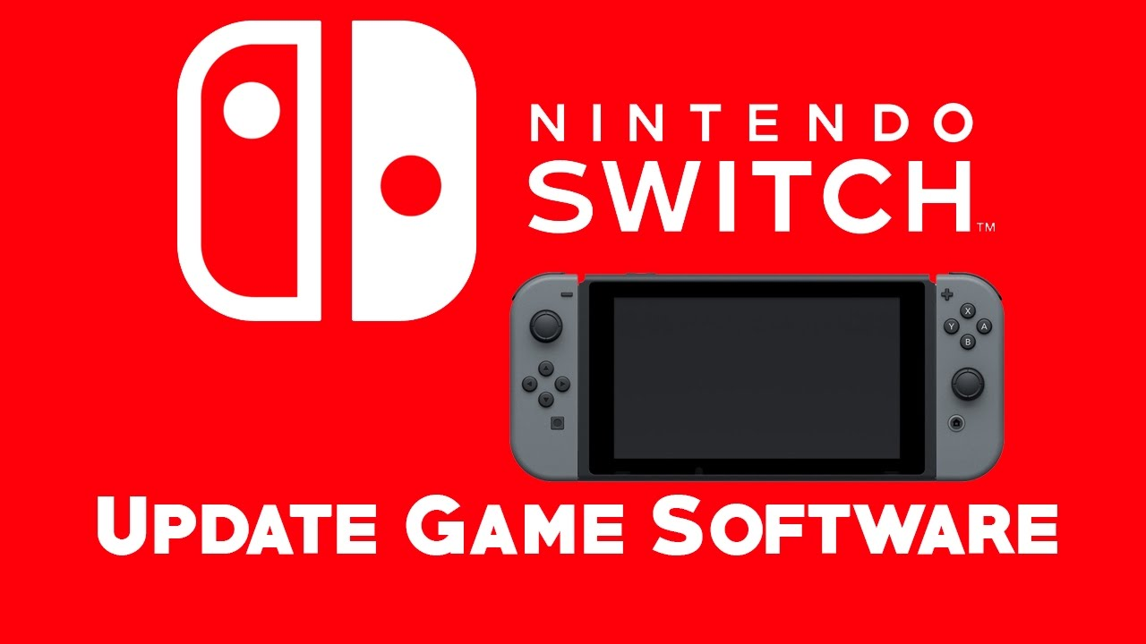 Manually Update Nintendo Switch Game Software Youtube