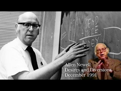 Allen Newell : Desires and Diversions : 1991 : Carnegie Mellon University