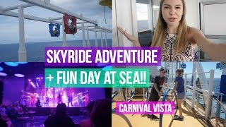 CARNIVAL VISTA CRUISE VLOG 2017!   DAY 2