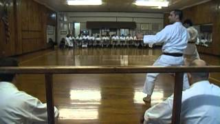Shotokan Black Belt Test Kihon and Kata