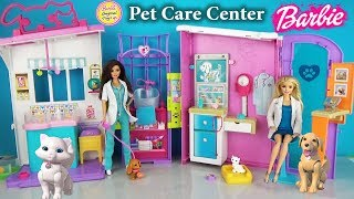 Игровой набор Барби ЦЕНТР ВЕТЕРИНАРА Barbie Pet Care Center Animal Hospital Playset Pet Vet