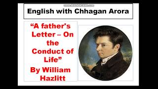 """summary of """"A father's Letter – On the Conduct of Life"""" By ..."""