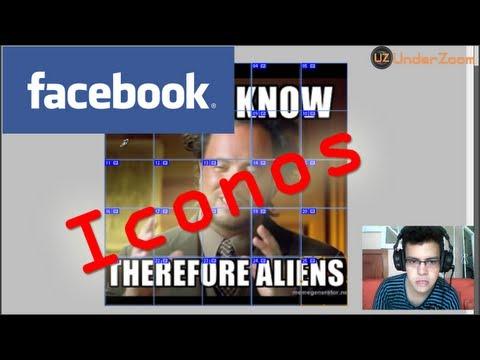 Creación De Iconos Para Chat De Facebook Con Imágenes (emoticones Grandes) Photoshop