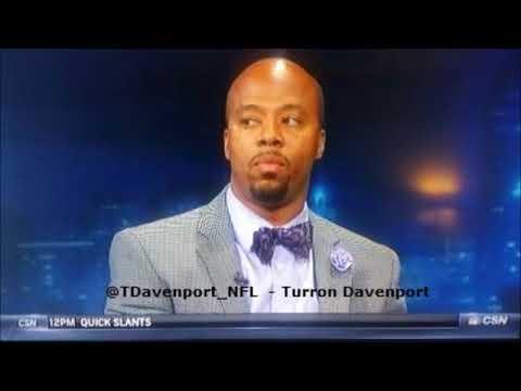 Turron Davenport live on Radio Row with insights into Eagles vs Patriots